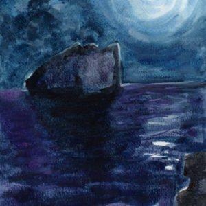 Notte di luna piena di Luca Sanna