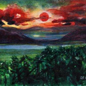 sunset Luca Sanna
