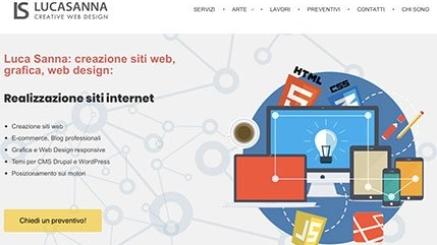Luca Sanna realizzazione siti internet sassari e sardegna