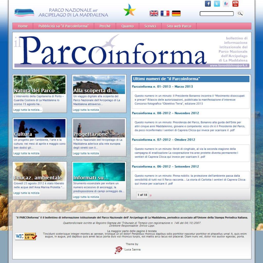 Arcipelago La Maddalena Parcoinforma
