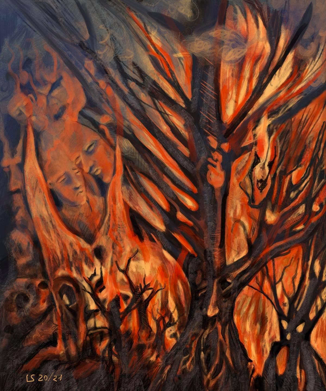 Il fuoco che brucia ogni cosa